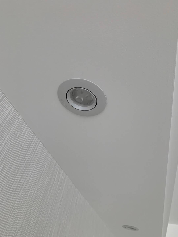 欧普照明(OPPLE)射灯led3w全套天花灯客厅吊顶墙灯牛眼灯单只/象牙白3w白光一体式