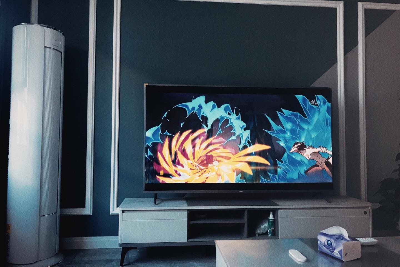 飞利浦70英寸环景光智能电视,时尚还容易上手操作