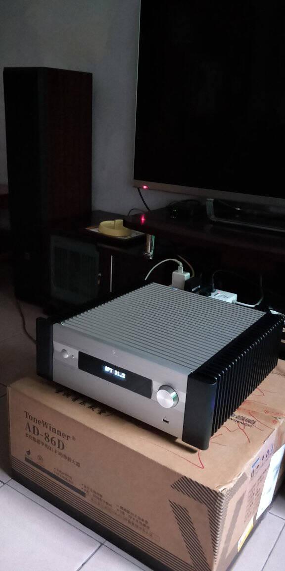 天逸(Winner)AD-86D合并式HIFI解码功放机发烧级立体声大功率高保真HIFI组合AD-86D