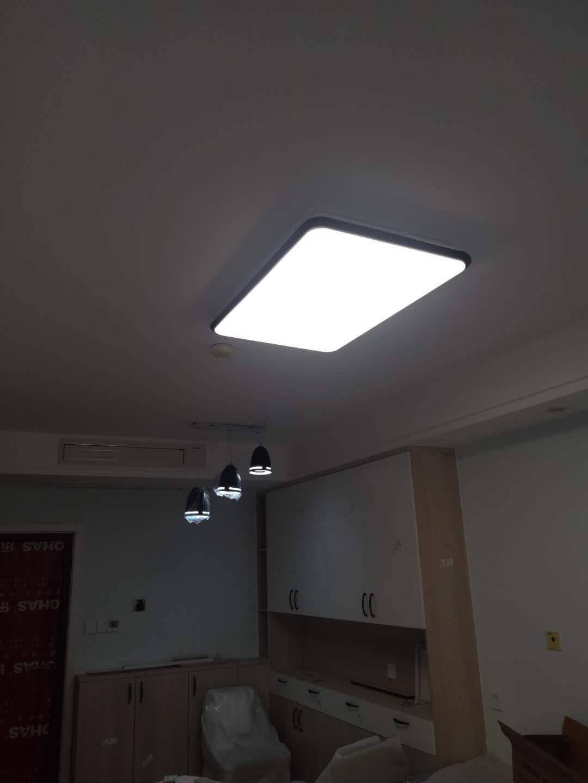 雷士(NVC)雷士照明LED餐吊灯餐厅吧台灯具现代简约铁艺三头吊灯白色