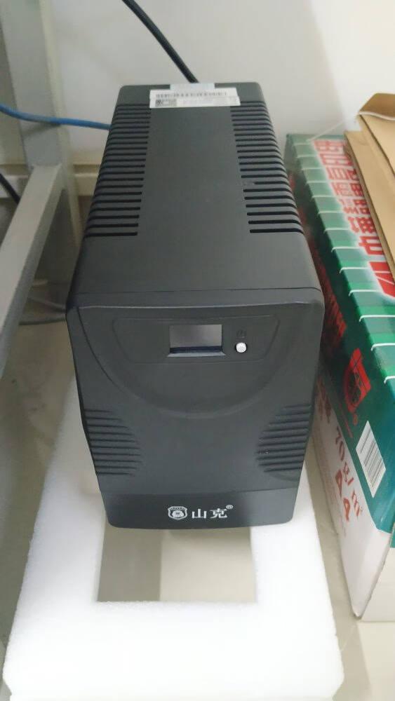 山克UPS不间断电源3000VA1800W服务器家用办公电脑后备UPS电源可带6台电脑【内置电池1800W】