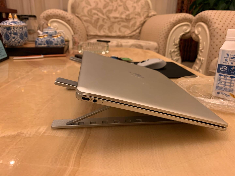 NVV笔记本支架电脑支架7档折叠升降散热器架子铝合金便携增高电脑架托苹果华为手提macbook底座NP-2X