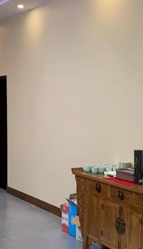 乐图美居LETUNOME墙布客厅卧室电视背景墙素色个性定制无缝壁布DLS-3901A-31香槟黄每平方米