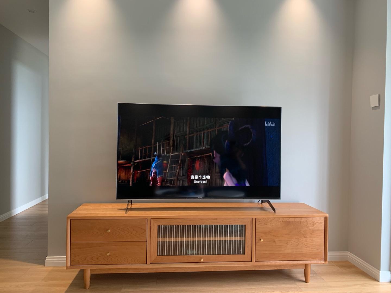 索尼4K超高清液晶电视,满足大部分客厅用的游戏电视