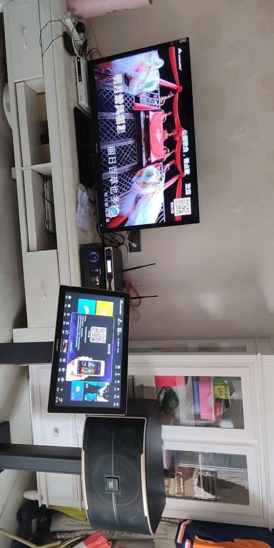 JBL家庭影院ktv音响套装音王语音点歌机一体机Pasion音箱卡拉ok酒吧家用客厅音响功放组旗舰版10吋KTV套装(3T)图片色
