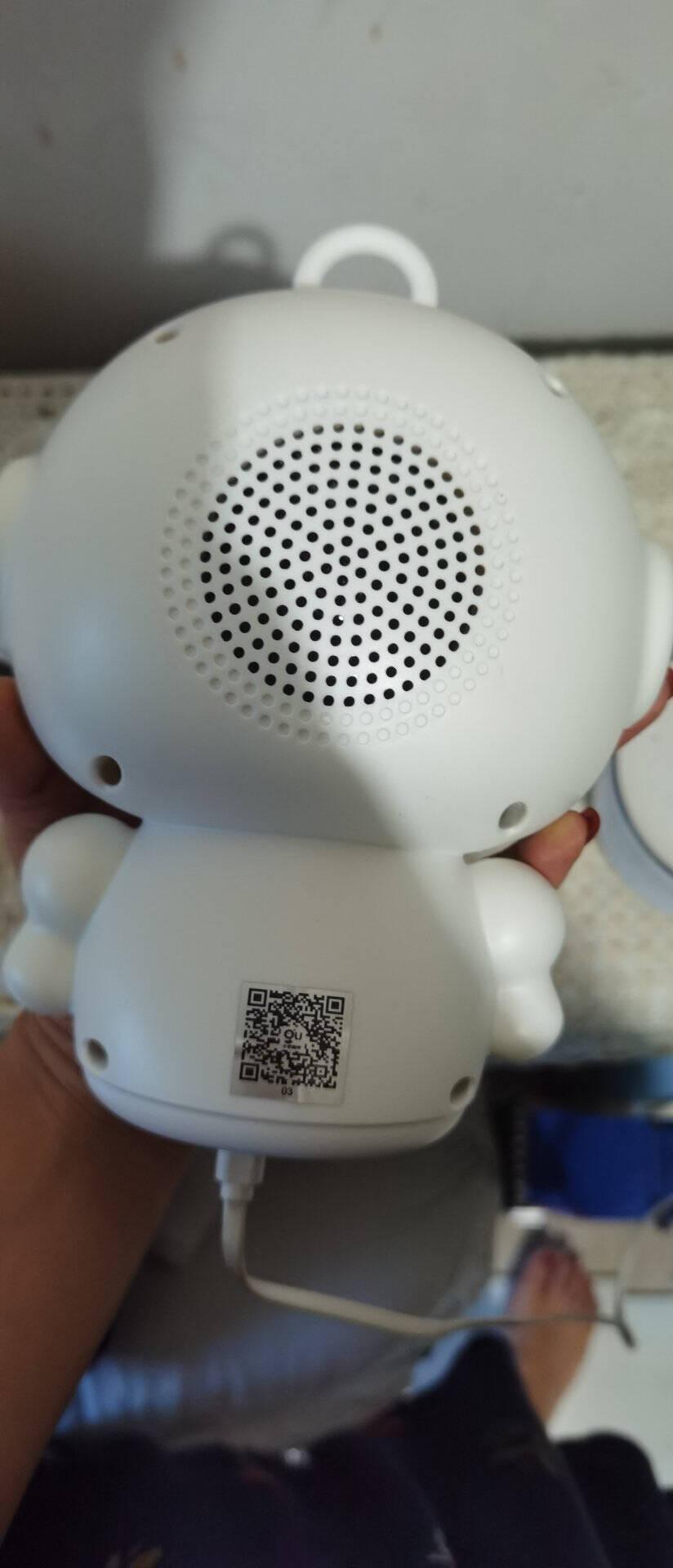 半兽人WiFi智能机器人儿童故事早教机语音互动聊天学习玩伴益智玩具教育机器人语音对话教学机器人战神WIFI机器人白色