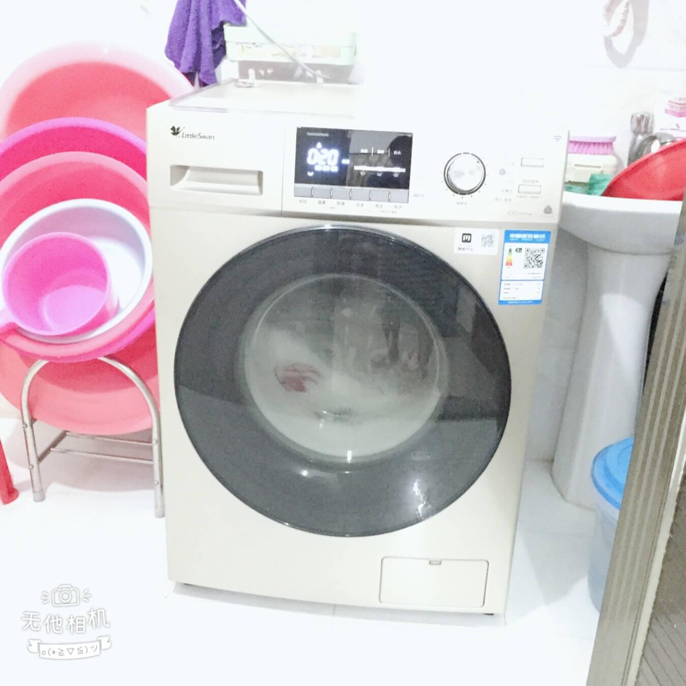 小天鹅滚筒洗衣机10KG全自动家用大容量洗衣机变频静音一级节能智能wifi婴儿服洗高温除菌洗TG100S21WDG【新品】