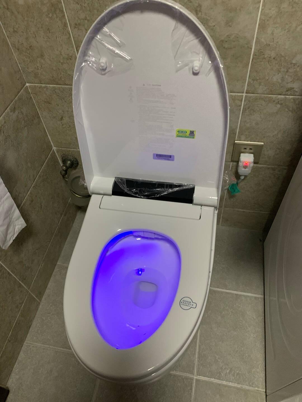 日本TEOEO久野卫浴品牌智能马桶全自动冲水一体式机即热家用电动智能坐便器自动感应智能语音豪华版【全自动+声控+泡沫盾】300坑距