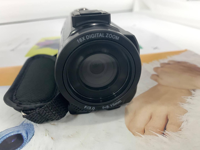 松典201LM数码摄像机高清麦克风采访拍录一体机旅游防抖标配64G【送4重礼】