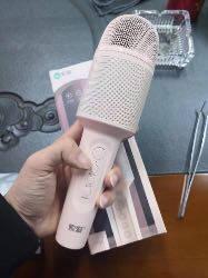 索爱(soaiy)MC8全民k歌手机麦克风话筒唱吧录音主播声卡套装唱歌神器音响一体无线蓝牙家庭ktv宝石蓝