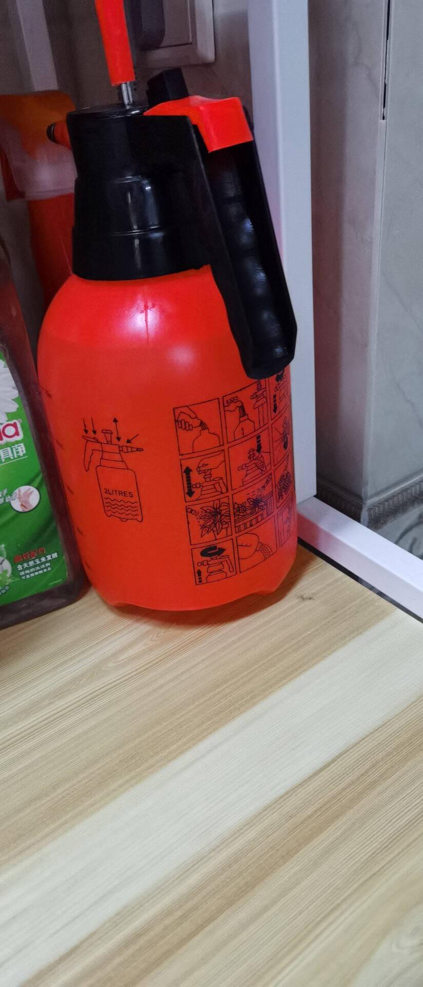 锐能(RAYENR)喷壶消毒喷雾器花卉植物浇水壶浇花园艺浇灌洒水壶气压喷壶2.0L加厚喷壶橙色NR0147