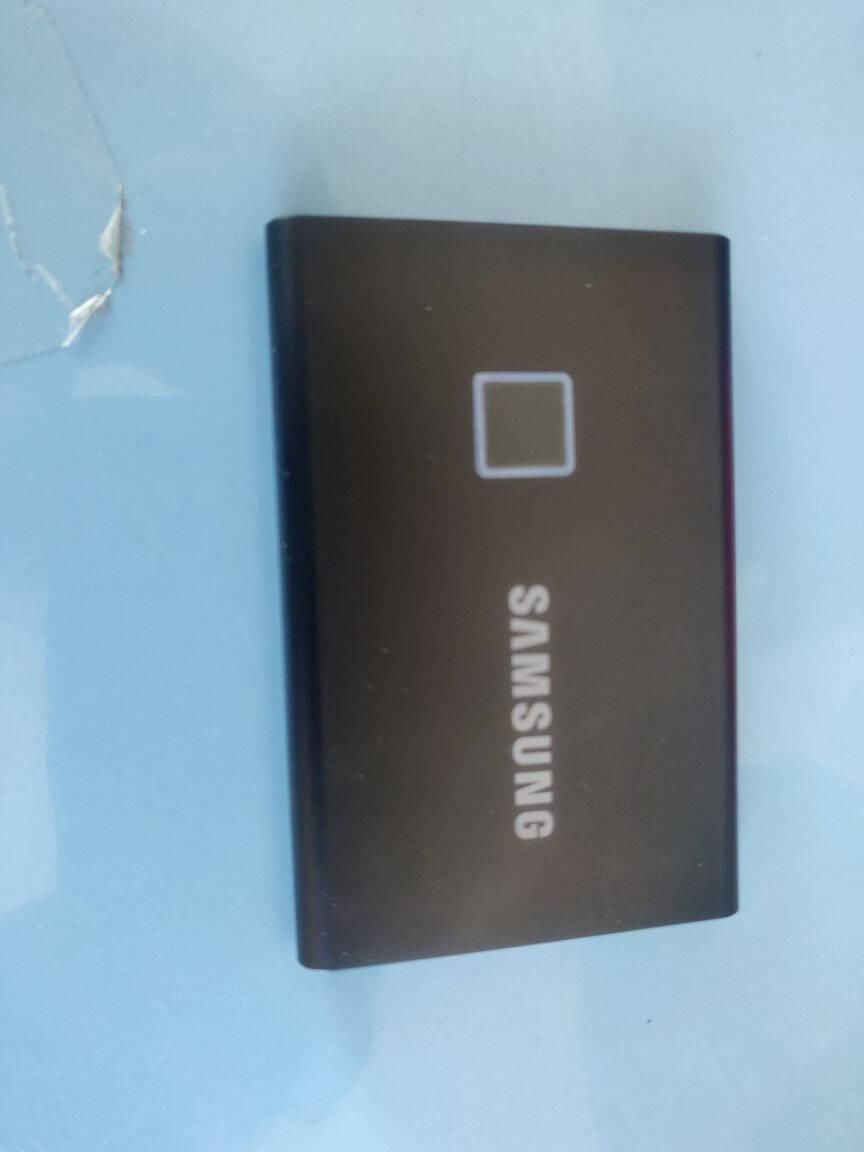 三星(SAMSUNG)500GBType-cUSB3.1移动硬盘固态(PSSD)T5珊瑚蓝最大传输速度540MB/s安全便携