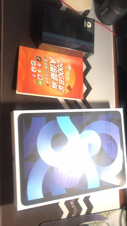 AppleiPadAir10.9英寸平板电脑(2020年新款256GWLAN版/A14芯片/触控ID/全面屏MYFY2CH/A)天蓝色