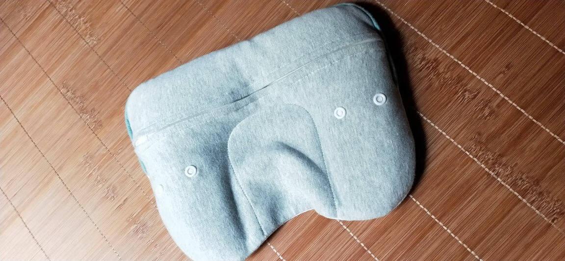 萌宝(Cutebaby)婴儿枕头0-1岁定型枕防偏头新生婴儿枕头四季通用透气荞麦枕矫正头型婴儿定型枕新生儿【0-3-6个月】绿色