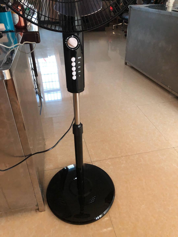 钻石牌(DIAMOND)落地扇家用电风扇办公室静音遥控/机械风扇大风量四档调速五叶升级版大电机(遥控款)