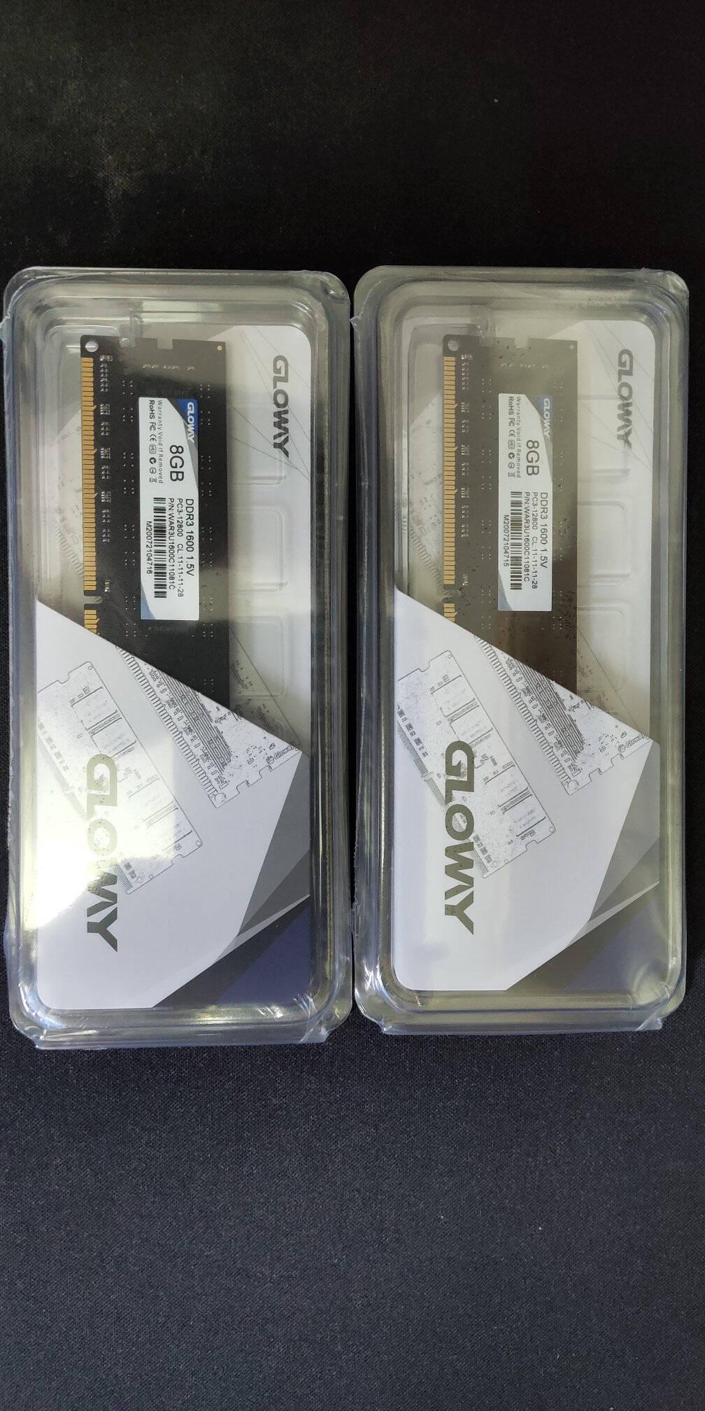 光威(Gloway)8GBDDR31600频率台式机内存条/战将系列