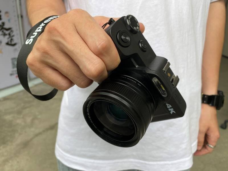 松典DC201数码照相机单反卡片相机微单小型傻瓜入门级学生家用高清标配32G【送4重礼】标配