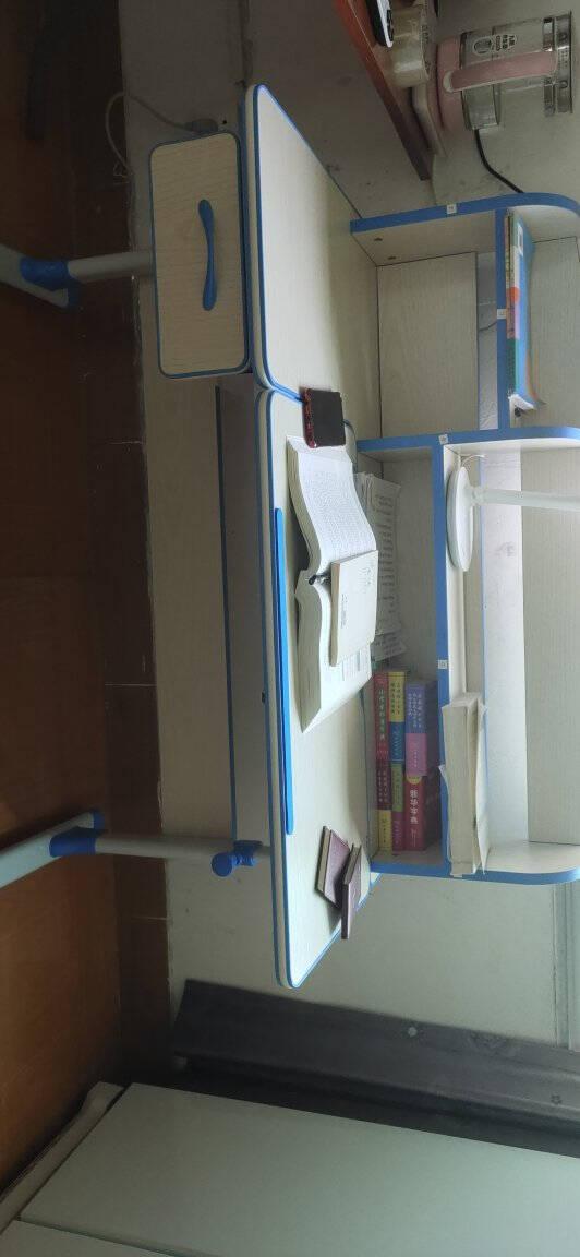 坐得正儿童学习桌椅套装可升降写字桌小孩作业桌小学生写字台儿童书桌可升降桌椅组合经典款【纠姿桌+双背纠姿椅】双专利纠姿-粉纠姿版