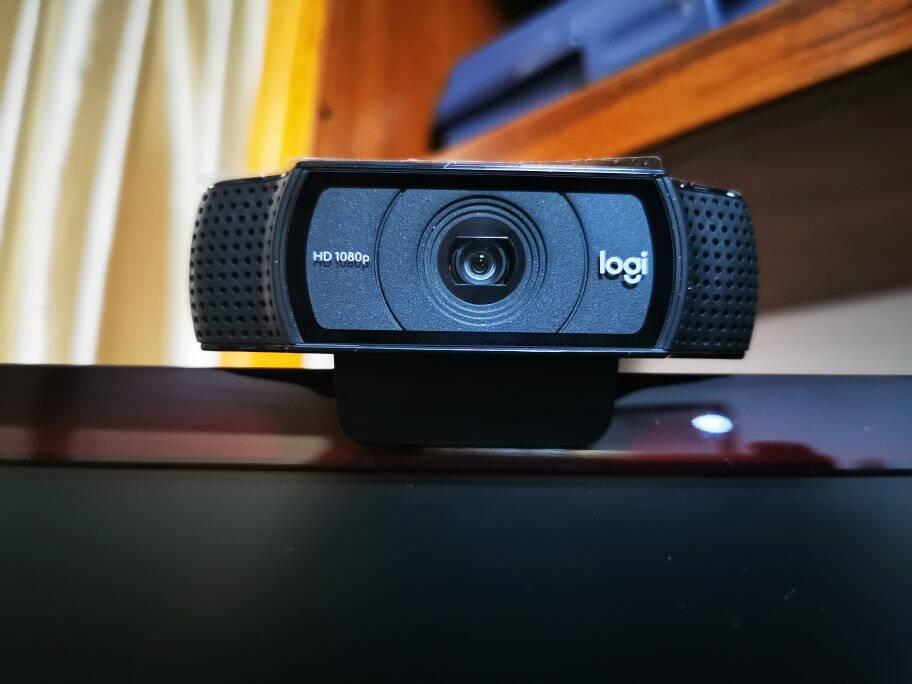 罗技(Logitech)C920PRO主播推荐摄像头高颜值台式电脑视频高清直播摄像头黑