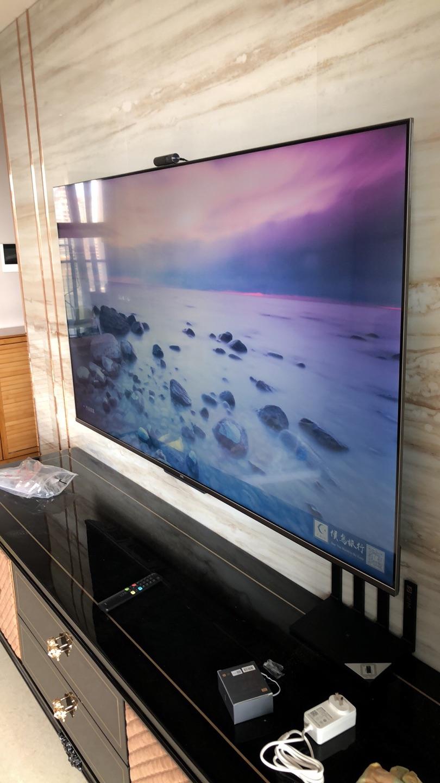TCL高色域社交电视,超薄全面屏家居好物
