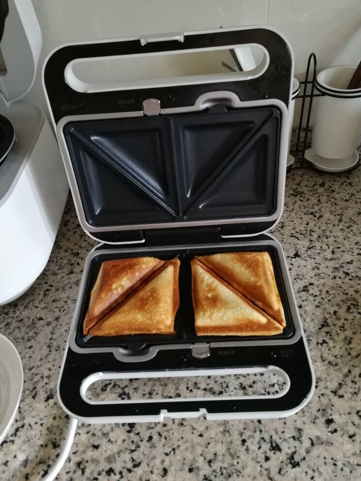 松下(Panasonic)家用早餐机华夫饼机松饼机三明治机煎蛋NF-HW1