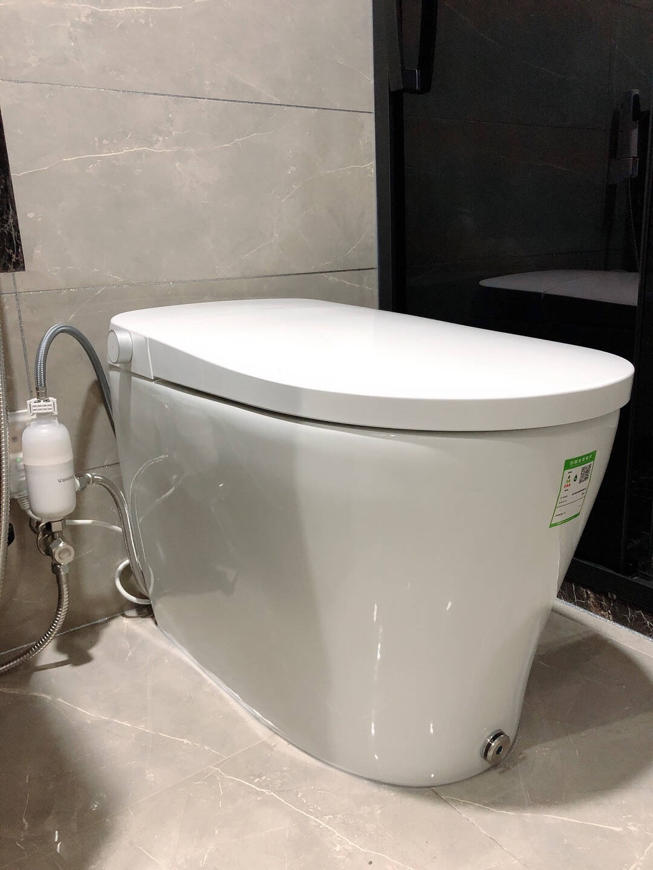 Vancoco星月日本智能马桶一体式家用即热式全自动翻盖无水压限制要求电动坐便器自动翻盖/无水压限制305mm