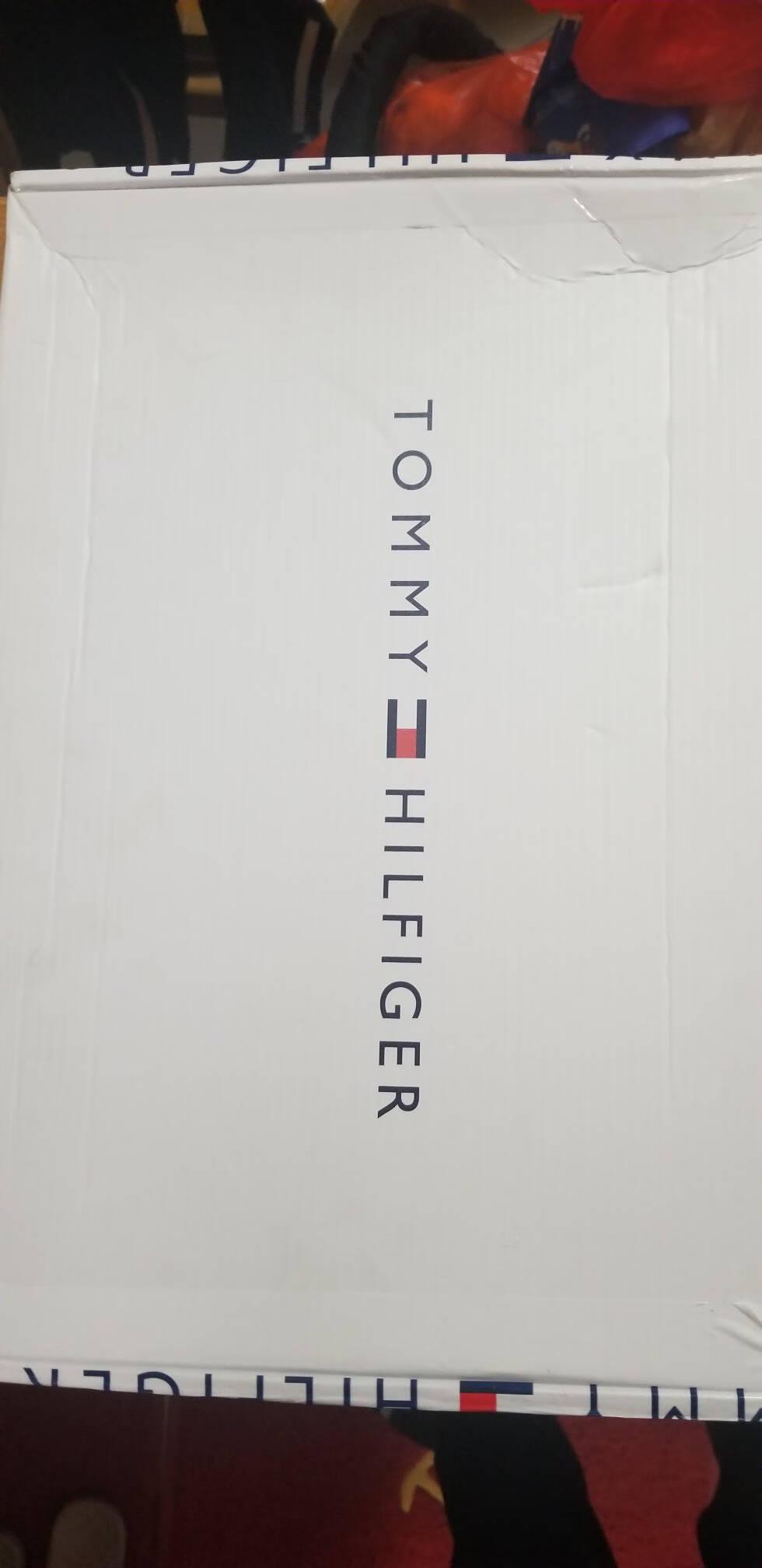 TOMMYJEANS男装经典纯棉刺绣标翻领修身短袖POLO衫DM0DM04266深蓝色002S