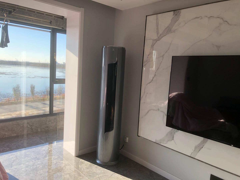 云米(VIOMI)新一级Milano米兰柔风智能家电变频冷暖3匹客厅圆柱空调立式柜机KFRd-72LW/Y2RD1-A1