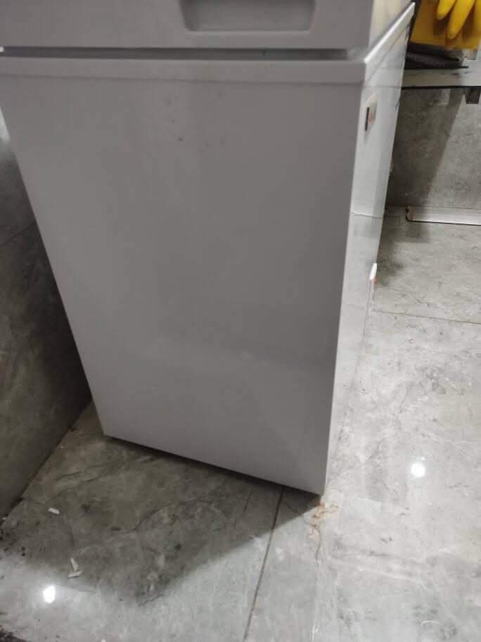 志高(CHIGO)小冰柜家用小型迷你冷冻保鲜商用卧式节能冷藏柜储母奶58A118【省电款一级能效】