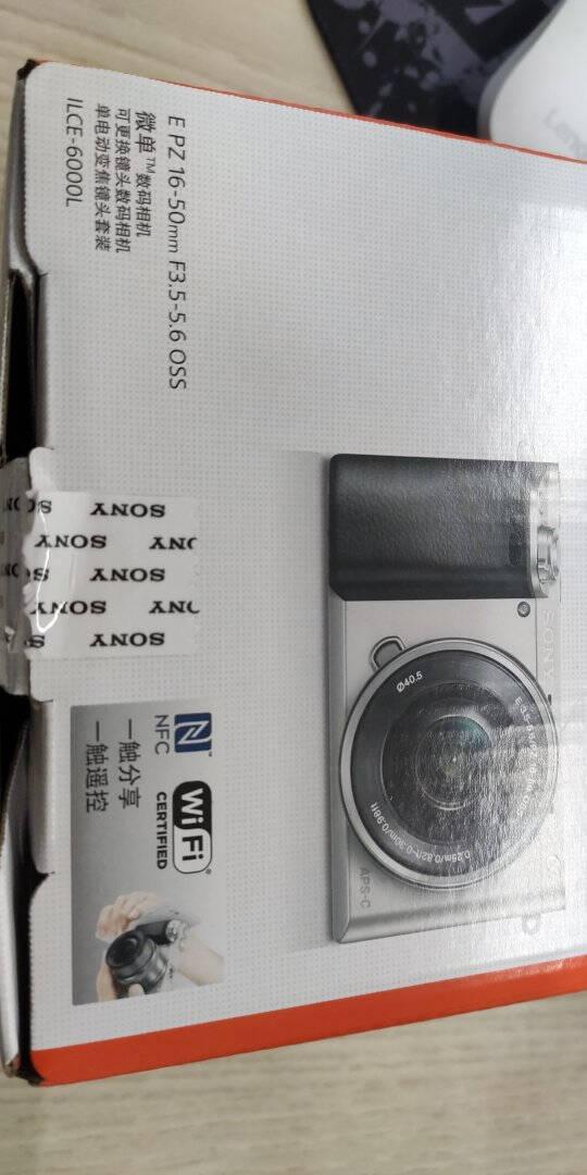索尼(SONY)Alpha6000APS-C画幅微单数码相机SELP1650+SEL55210双镜头套装白色(A6000/α6000)