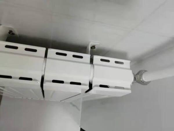 京都鸟暖气片家用水暖壁挂式铜铝复合散热器集中自采暖客厅卧室暖气片支持定制75X75高30cm