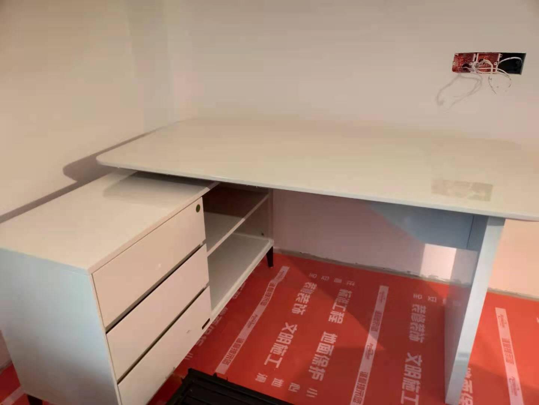 全友家居书桌书柜组合现代简约多功能储物办公写字桌电脑学习桌126109二门书柜