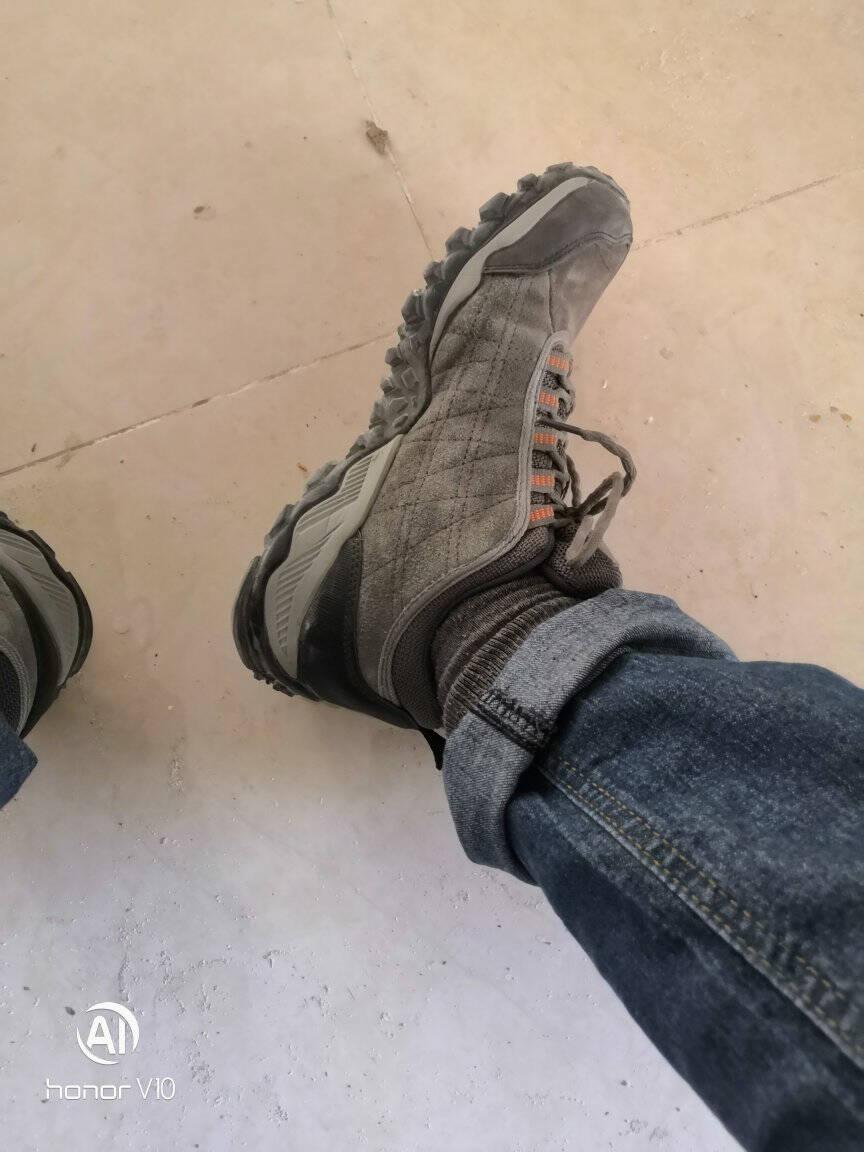 悍途(HUMTTO)户外登山鞋新款男女休闲徒步鞋户外爬山鞋深蓝-11028243