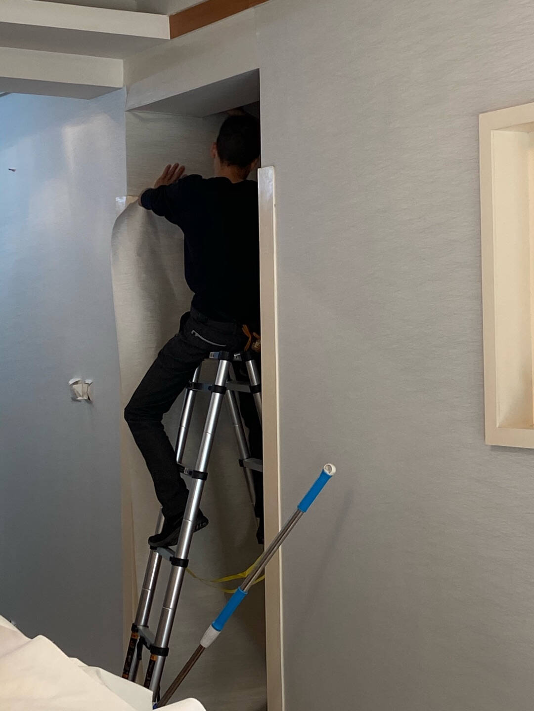 英国乐图(LETU)墙布无缝壁布客厅卧室电视背景墙现代简约个性定制布面壁纸墙纸DSF-6668-1【皎洁雪白】