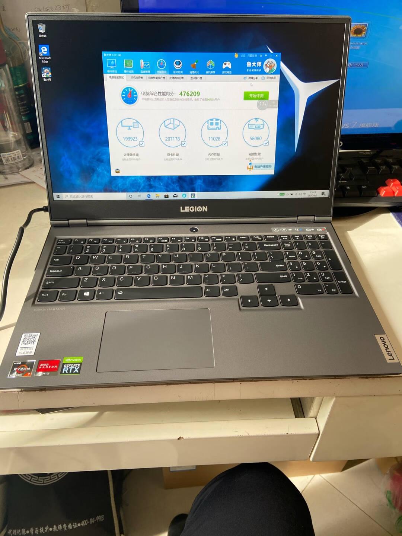 联想(Lenovo)拯救者R700015.6英寸游戏笔记本电脑(R5-4600H16G512GSSDGTX1650100%sRGB)冰魄白