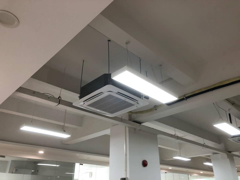 海尔(Haier)吸顶空调天花机3匹中央空调商用3p智能直流变频健康自清洁2级能效三菱压缩机KFRd-72QW/23DAH22