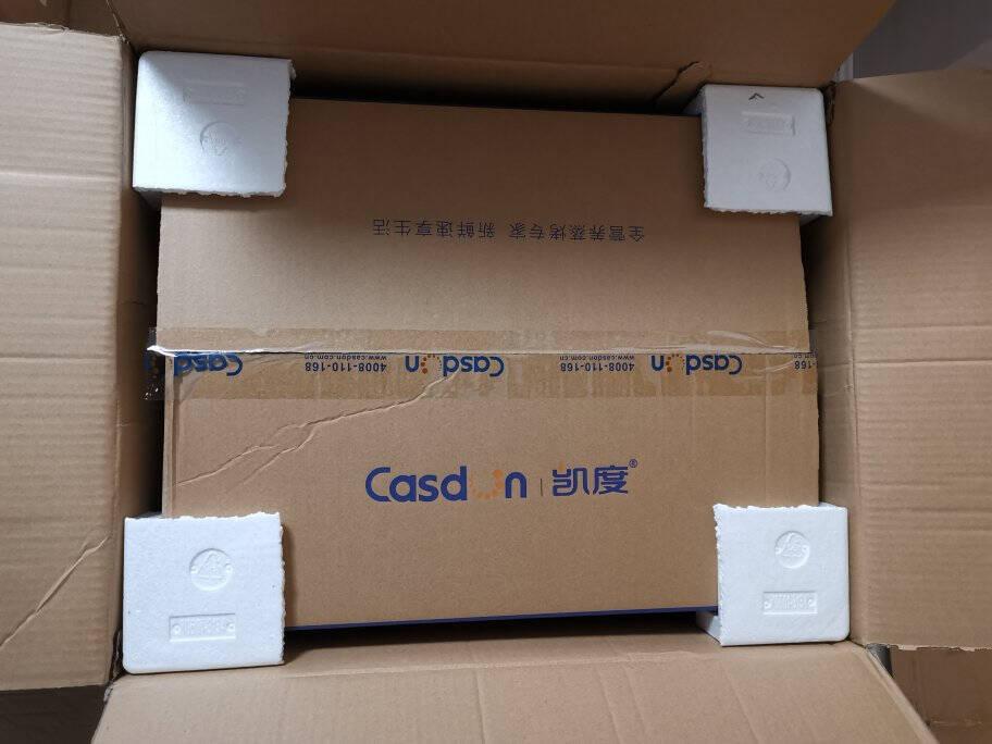 凯度(CASDON)ST28D-X7蒸箱烤箱二合一家用烘焙一体机电蒸烤箱台式智能可取代微波炉28LX7