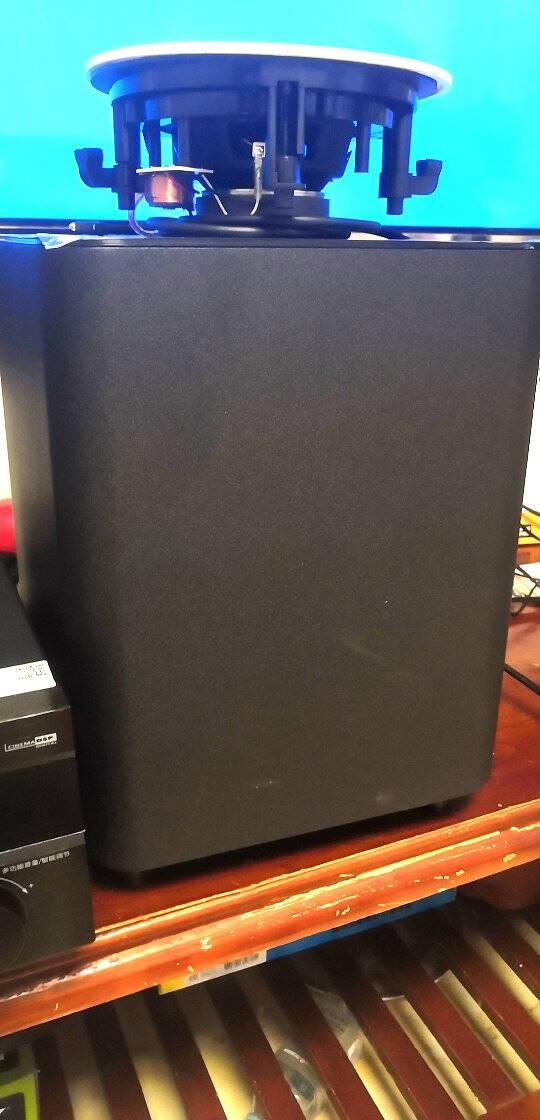 山水(SANSUI)T2吸顶音响喇叭5.1家庭影院音响套装背景音乐客厅吊顶喇叭音箱功放家用6.5英寸吸顶喇叭