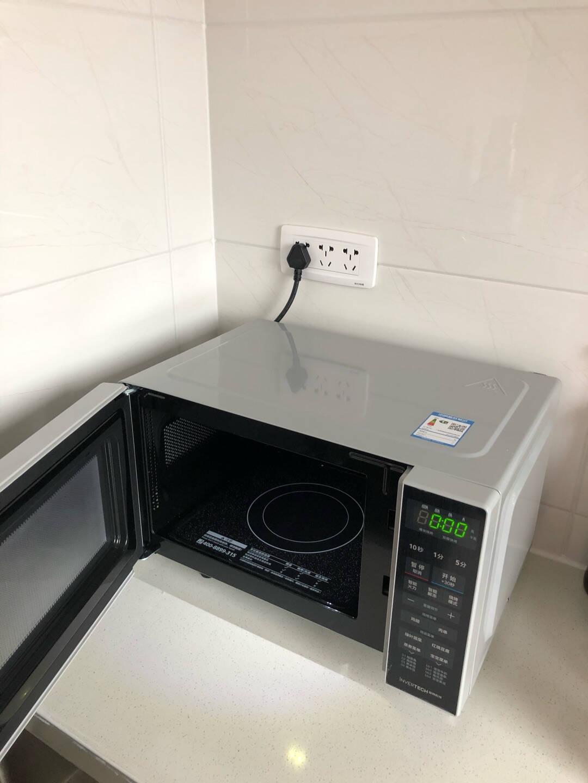 美的(Midea)M1-L201B变频微波炉家用电烤箱光波炉微波炉烤箱一体机微蒸烤20升