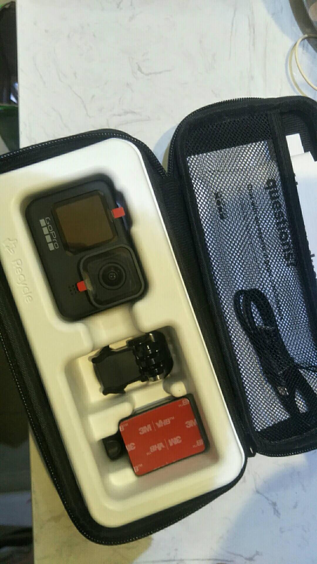 GoPro双电池充电器+一块电池运动相机配件(适用于HERO9)
