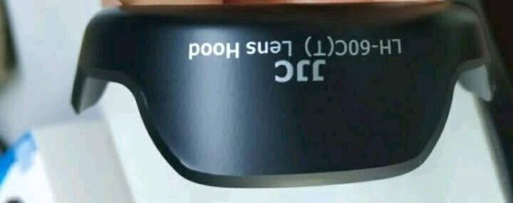 JJC佳能EW-60C遮光罩1500D3000D1300D18-55mmISII镜头配件