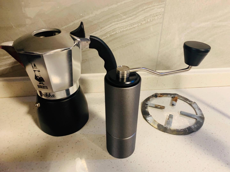 比乐蒂摩卡壶咖啡具配件炉架燃气炉灶支架家用煮咖啡煤气灶架子圆形猛火灶不锈钢架炉架*1炉架黑