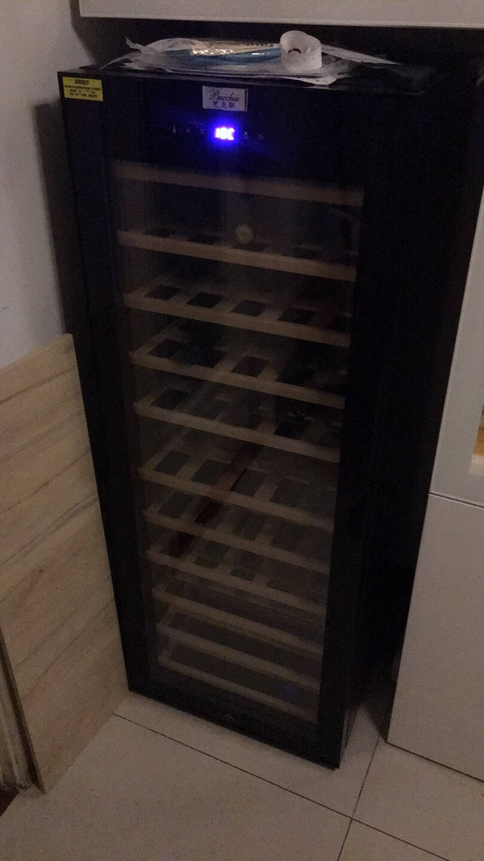 芭克斯(Bacchus)红酒柜恒温酒柜家用大容量藏酒柜葡萄酒恒温柜紅酒櫃风冷挂杯YH-72YH-50榉木层架