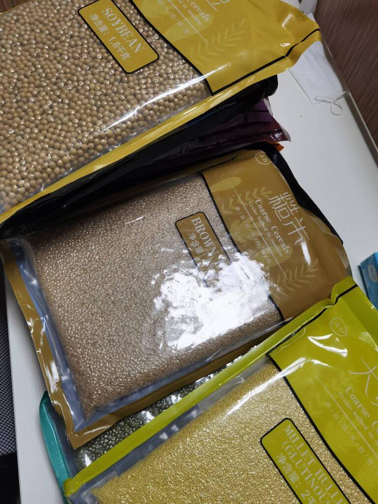 沐谷精选东北糙米2kg(含胚芽粗粮杂粮大米伴侣真空包装)