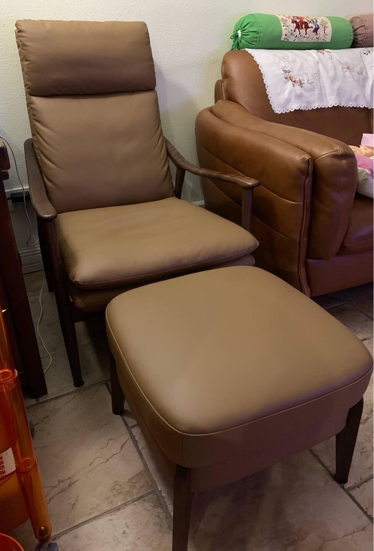 青春潮沙发椅脚踏凳真皮北欧小凳子/方凳实木沙发凳/矮凳/搁脚凳/换鞋凳A16脚踏(乌金木)