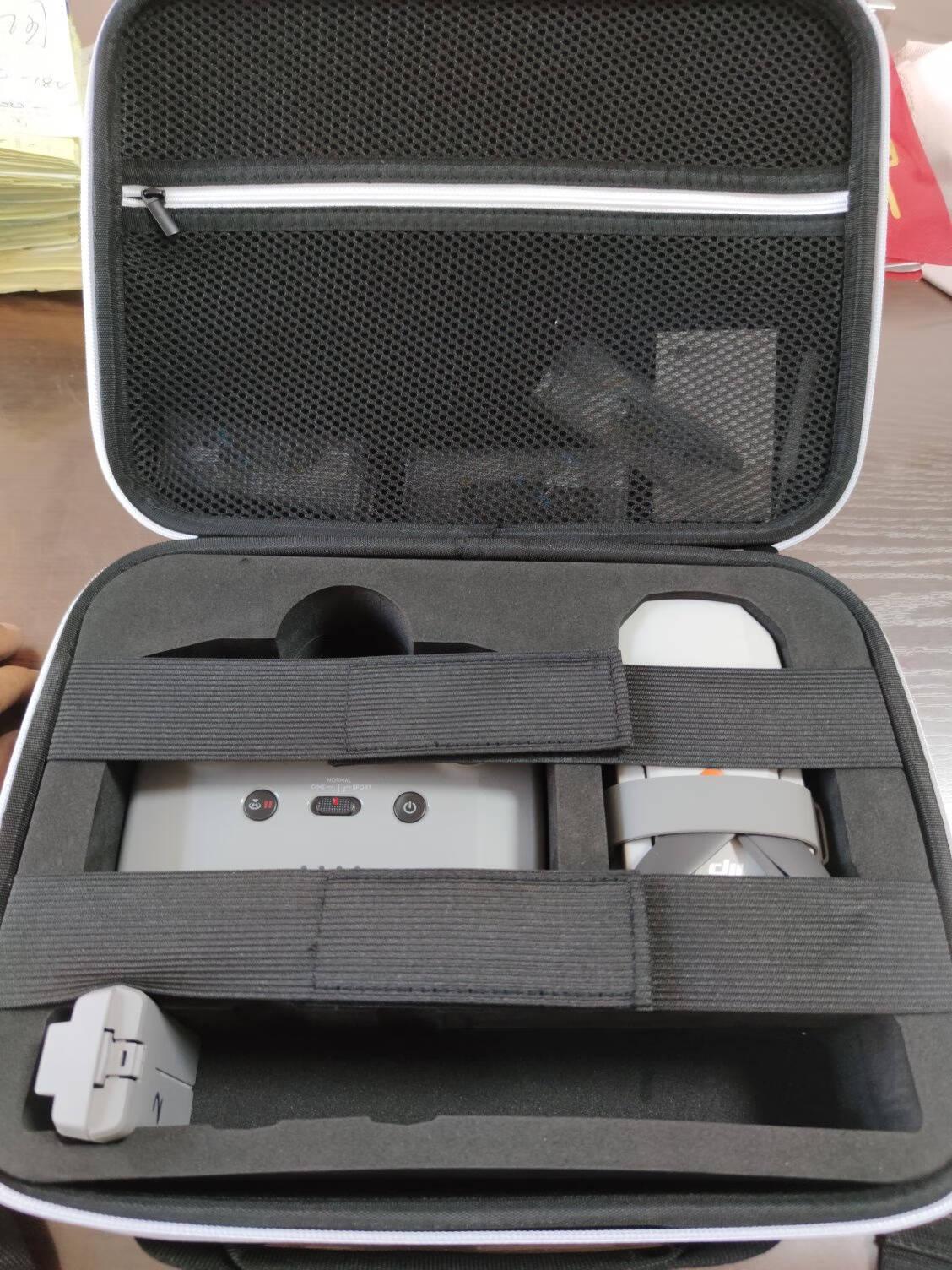 MAXCAM适用DJI大疆御背包MAVICMINI2收纳包便携安全mini2保护箱盒配件硬壳挎单肩背包抗压摔防溅水