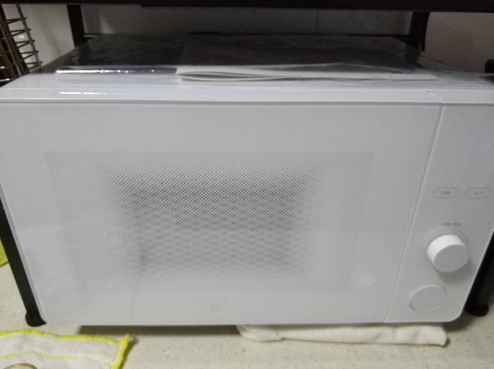米家小米微波炉20升平板均匀加热3种解冻模式自带食谱米家APP互联MWBLXE1ACM