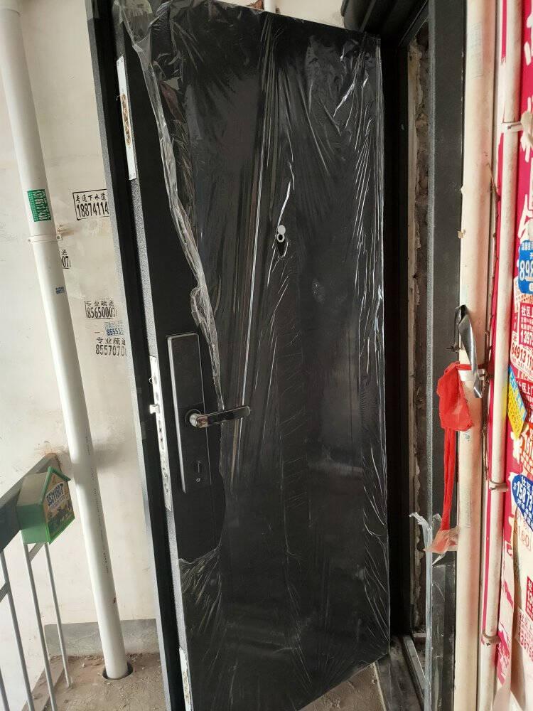 尧盾防盗门智能安全门进户门入户门家用大门防撬门超全尺寸有内开常规尺寸+机械锁配置左外开
