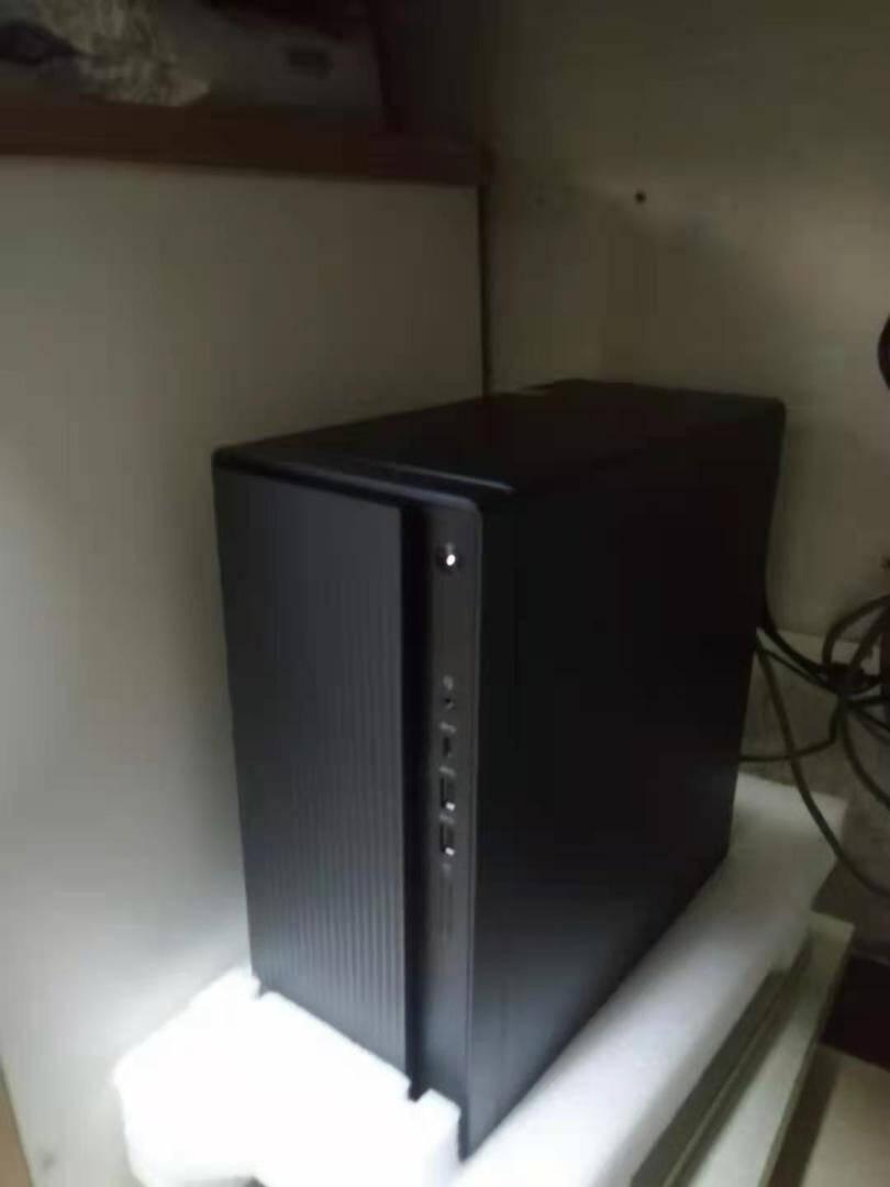 联想(Lenovo)擎天T510A十代英特尔酷睿个人商务台式机电脑14升单主机十代新品i3-101058G1T+21.5英寸显示器