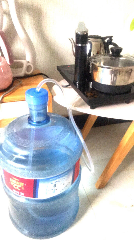 智汇抽水管饮水机茶水管茶具吸水管茶台电热水壶自动上水管进水软管子抽水管桶装水硅胶管软管1.5米(密过滤嘴加防尘盖)304不锈钢滤嘴